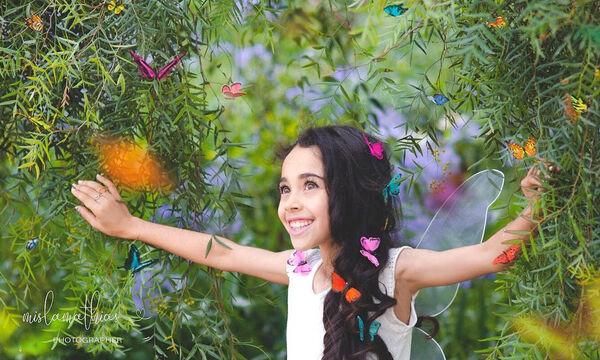 Κοριτσάκια ντύθηκαν πεταλούδες και μας προετοιμάζουν για την Άνοιξη. Θα σας μαγέψουν... (pics)