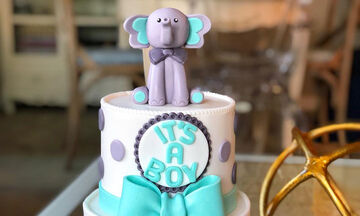 Baby shower: Ιδέες για να διακοσμήσετε την τούρτα αν περιμένετε αγόρι (pics)