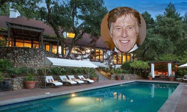 Robert Redford: Πουλάει το σπίτι του στην κοιλάδα της Napa. Το είδαμε και είναι εντυπωσιακό! (pics)