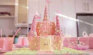 Το κάστρο της Πριγκίπισσας: Πώς θα φτιάξετε αυτή την εντυπωσιακή τούρτα γενεθλίων (vid)