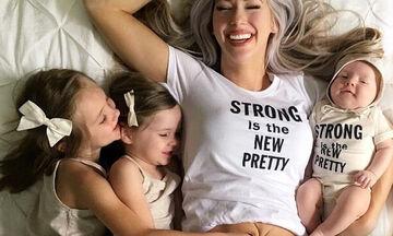 Αυτό που θέλει αυτή η μαμά να βλέπουν οι κόρες της αντί για την πλαδαρή κοιλιά της