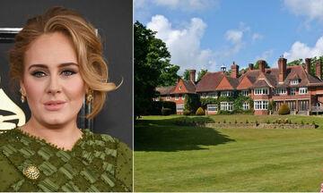 Δείτε φωτογραφίες από το αρχοντικό της Adele στο δυτικό Sussex (pics)