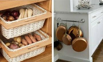 Ιδέες για να οργανώσετε τη μικρή κουζίνα σας (vid)