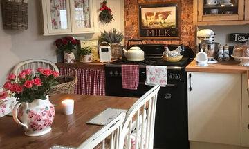 Country style: Μοναδικές ιδέες διακόσμησης για το διαμέρισμα ή το εξοχικό σας (pics)