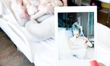 Μαμά στέλνει μήνυμα αγάπης στο νεογέννητο μωρό της (pics)