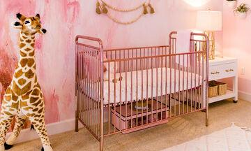 Περιμένει πώς και πώς το δεύτερο αγγελούδι της & μας δείχνει το παιδικό δωμάτιο που ετοίμασε (pics)