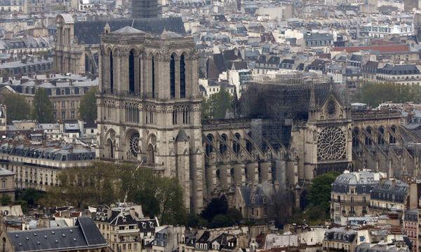 Παναγία των Παρισίων: Οι εργασίες αποκατάστασης μπορεί να διαρκέσουν δεκαετίες