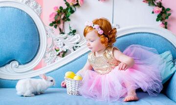 Παιδιά φωτογραφίζονται με το λαγουδάκι του Πάσχα - Ό,τι πιο χαριτωμένο έχετε δει! (pics)