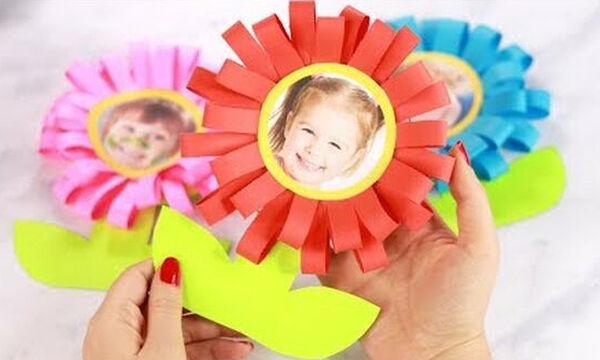Γιορτή της Μητέρας: Πώς να φτιάξετε μια όμορφη θήκη για φωτογραφίες μαζί με τα παιδιά (vid)