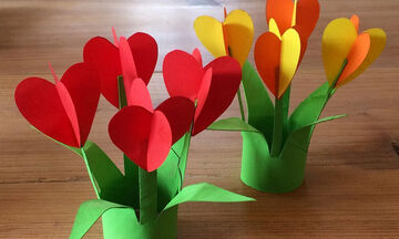 Γιορτή της Μητέρας: Τα παιδιά μπορούν να σας ευχηθούν με αυτές τις όμορφες χειροτεχνίες (pics)