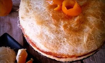 Πορτοκαλένιο καταΐφι με κρέμα σιμιγδαλιού (pics)