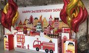 «Όταν μεγαλώσω θέλω να γίνω πυροσβέστης»: Ιδέες για πάρτι γενεθλίων (pics)