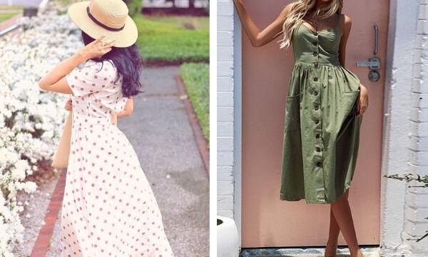 bbf88eba1a2 Δεκαπέντε καλοκαιρινά φορέματα για κομψές εμφανίσεις (pics ...