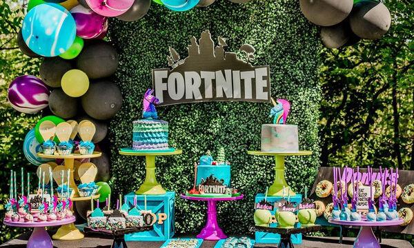 Fortnite: Πάρτι γενεθλίων με θέμα το αγαπημένο παιχνίδι των εφήβων (pics)