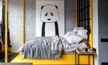 Πώς να διακοσμήσετε την κρεβατοκάμαρά σας και το παιδικό δωμάτιο σε κίτρινο χρώμα (pics)