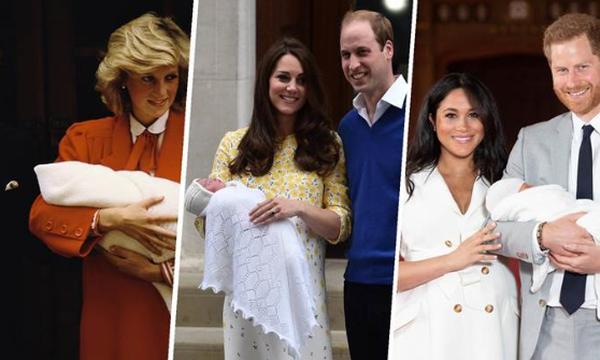 Βασιλικά μωρά: Σπάνιες φωτογραφίες από τις πρώτες δημόσιες εμφανίσεις τους (vid+pics)