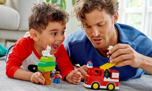 Παίξε φωναχτά μαζί με το παιδί LEGO® DUPLO®