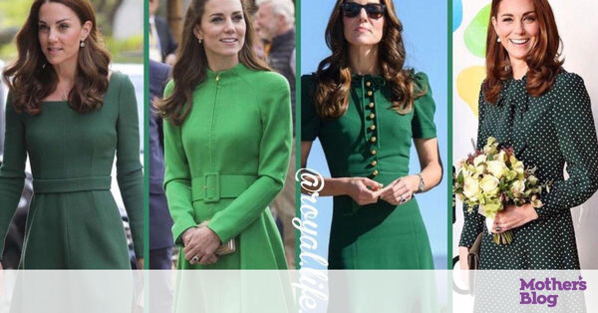 bf4a3925b218 Kate Middleton  Θυμόμαστε τις πιο όμορφες εμφανίσεις της με πράσινο φόρεμα  (pics + vid) - Mothersblog.gr