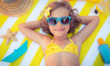 Καλοκαίρι και αντηλιακό: Συμβουλές για παιδιά