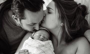 Η απίστευτη αντίδραση μίας μαμάς όταν έμαθε το βάρος του νεογέννητου μωρού της! (pics)