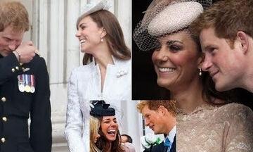 Kate Middleton: Η σχέση της με τον πρίγκιπα Harry πριν παντρευτεί την Meghan Markle μέσα από φωτό