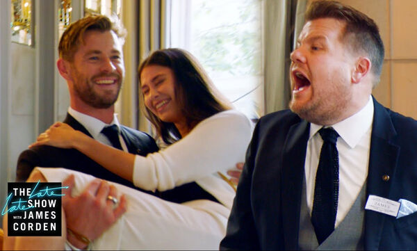 Corden & Hemsworth: Τι έκαναν & τρέλαναν ένα εστιατόριο; Το βίντεο με τα 5 εκατ. views