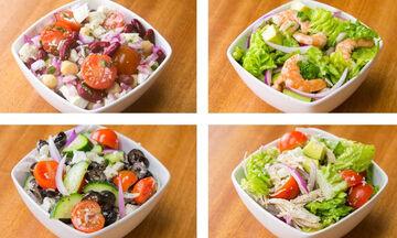 Χάστε βάρος τρώγοντας σαλάτες - Σας προτείνουμε πέντε χορταστικές συνταγές (vid)