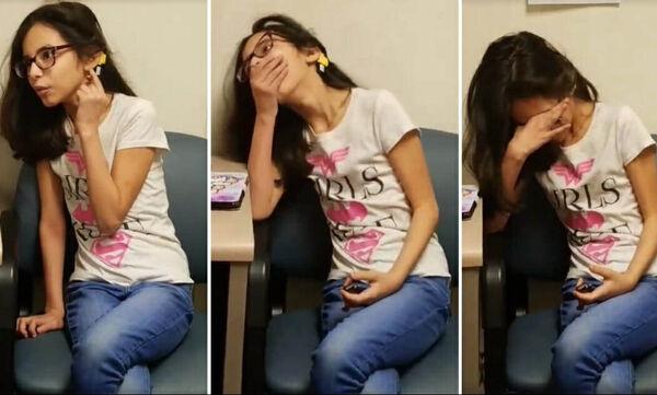 Η αντίδραση της 10χρονης τη στιγμή που ακούει για 1η φορά τη μαμά της να της λέει «Σ'αγαπώ» (vid)