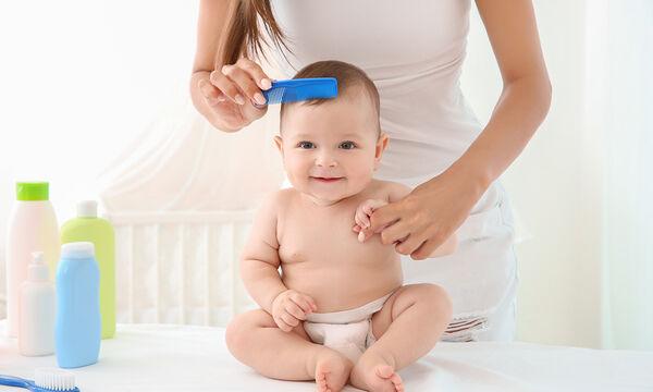Τριχόπτωση στα μωρά: Γιατί συμβαίνει και πώς θα το αντιμετωπίσετε; (pics)