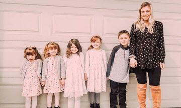 Μεγαλώνοντας 4 κόρες και έναν γιο (pics)