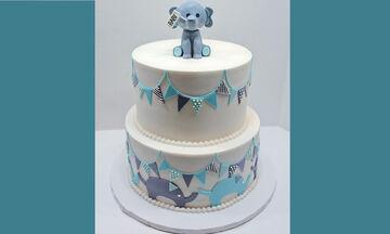Τούρτα Ελεφαντάκι: Η τέλεια επιλογή για τα πρώτα του γενέθλια - Δείτε πώς θα τη φτιάξετε βήμα βήμα